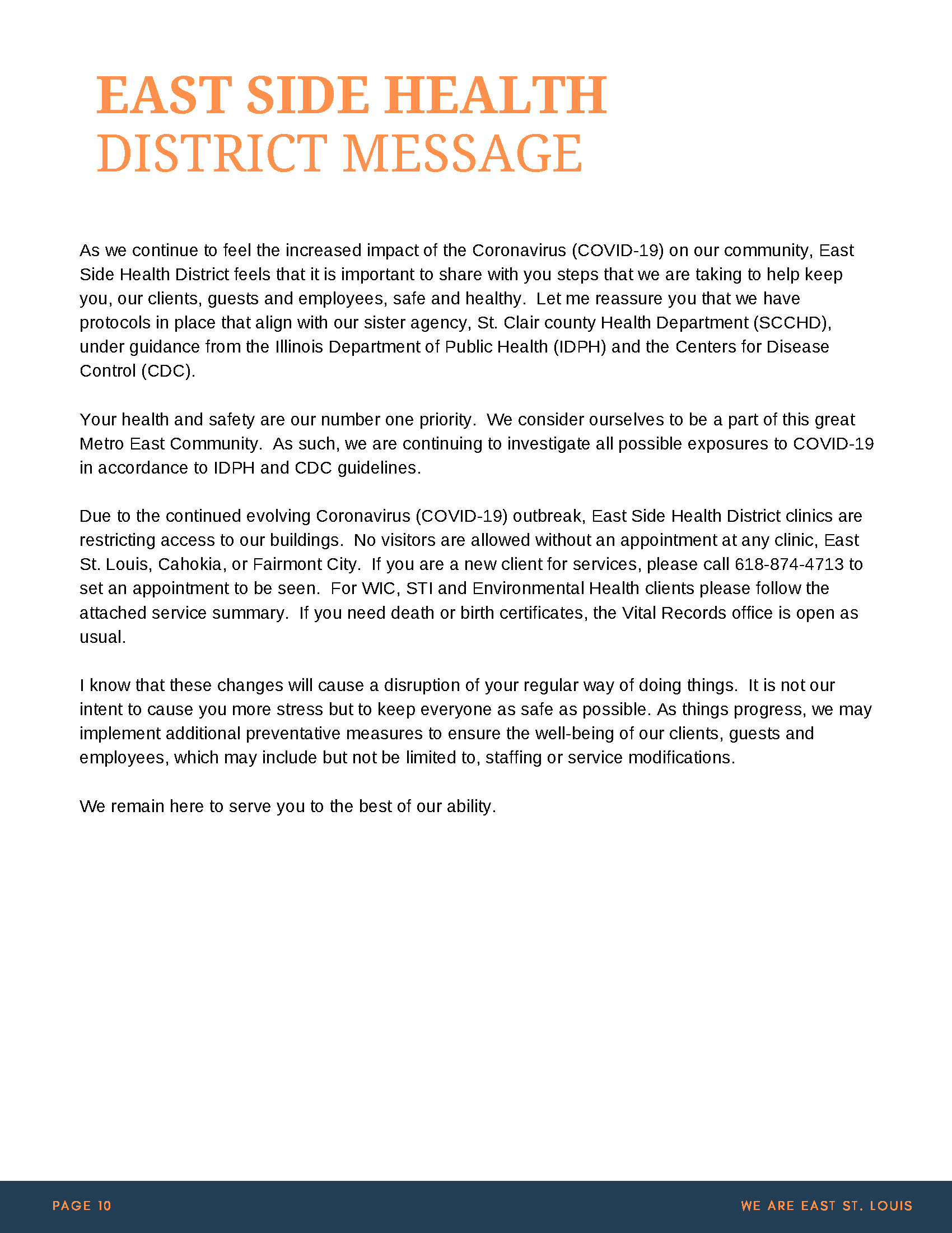 EAST ST LOUIS - COVID-19 RESOURCE GUIDE Update_Page_13